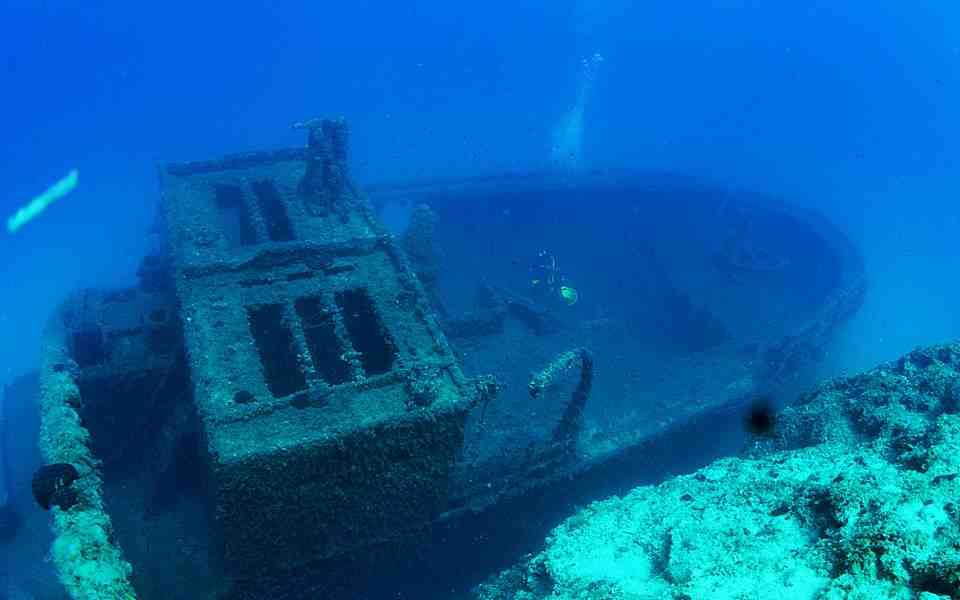 Plongée à Naxos : à l'assaut des épaves